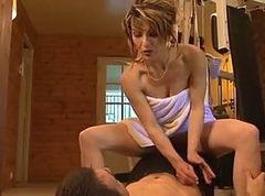 Anal, French, Milf, Gym, French perversion