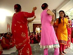 Dance, Indonesian with nepali
