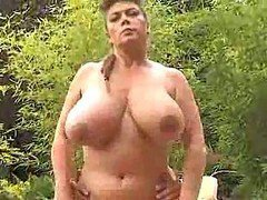 Fisting, Milf, Bbw, German mature fisting and pissing
