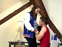 Black, Rubber, Gloves, Parents fucking my girlfriend
