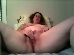 Glasses, Wife, Ass, French red haired mature with glasses doing dp